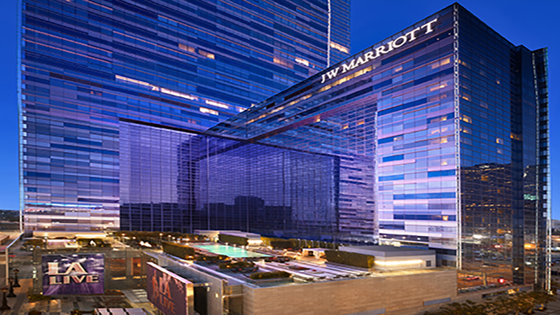 Stargazing At Jw Marriott Los Angeles Family Travel Channel