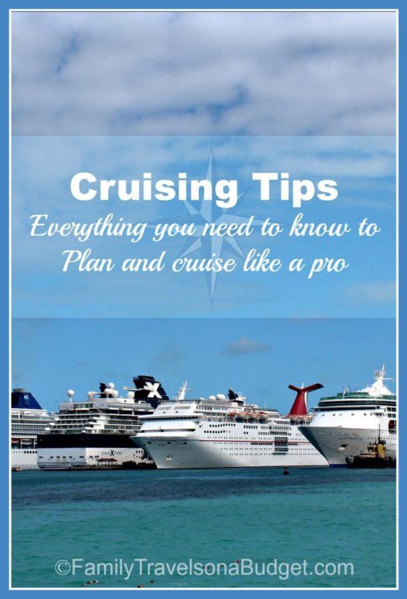 cruising tips