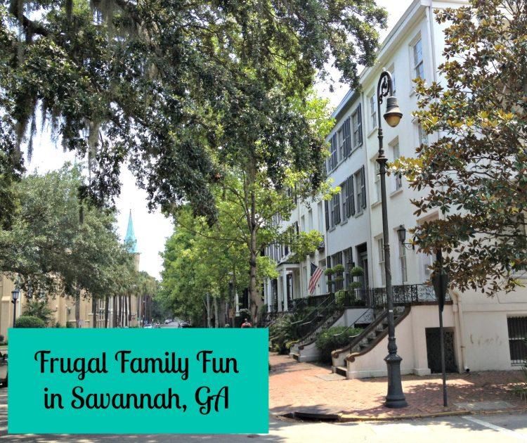 Frugal Family Fun in Savannah