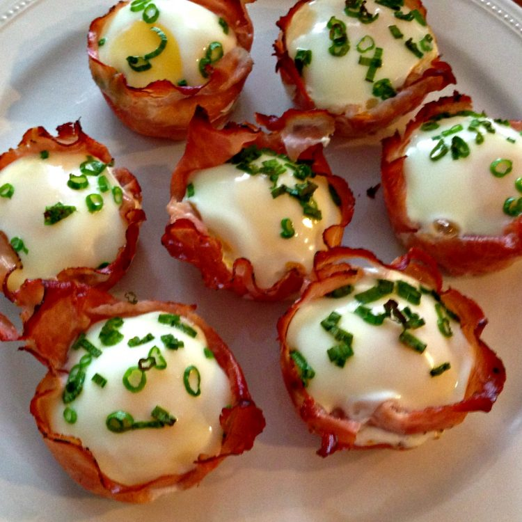#Recipe: Ham and Egg Cups