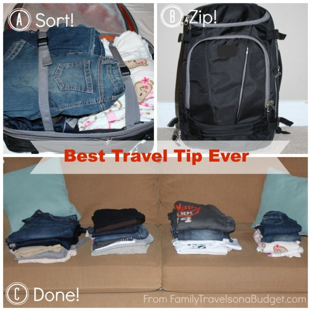 Best Travel Tip -- 5 minutes. 3 steps. Revolutionary!