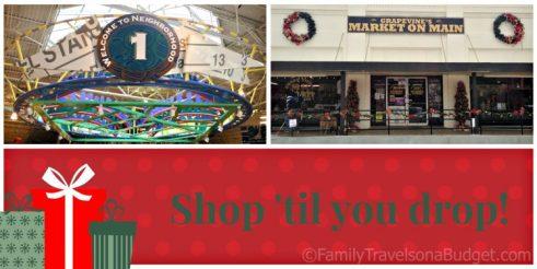 Christmas Grapevine Shopping