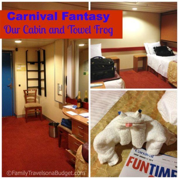 Carnival Fantasy Cabin