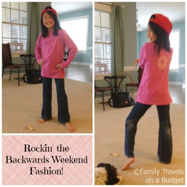Backwards Weekends Staycation -- It's all about the fashion!