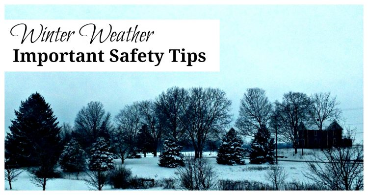 Winter Weather Safety Tips for Travel and Home
