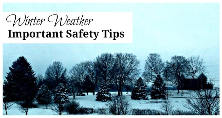 Winter Weather Safety Tips for Home and Travel. Be smart. Plan. Here's how.