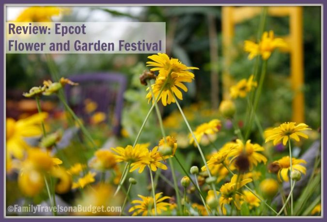 Epcot Flower and Garden Festival Review