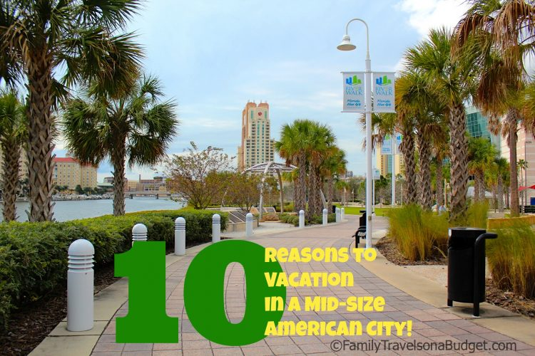 Top 10 reasons to consider mid-size city vacations