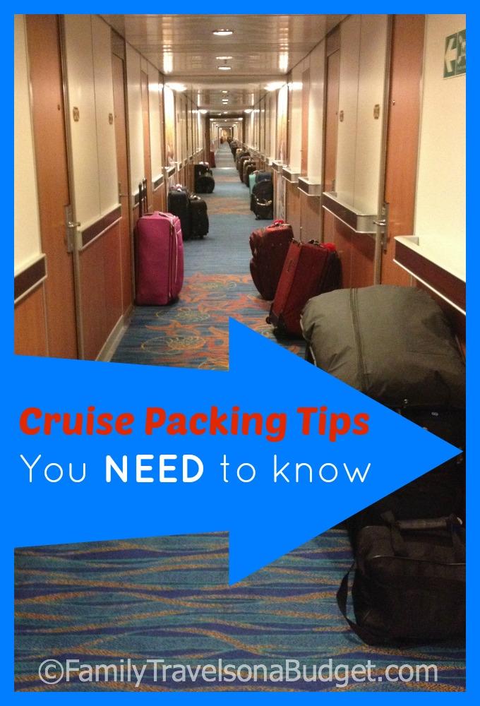 Cruising 101: Cruise packing tips