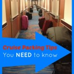 Cruising 101: Cruise packing tips