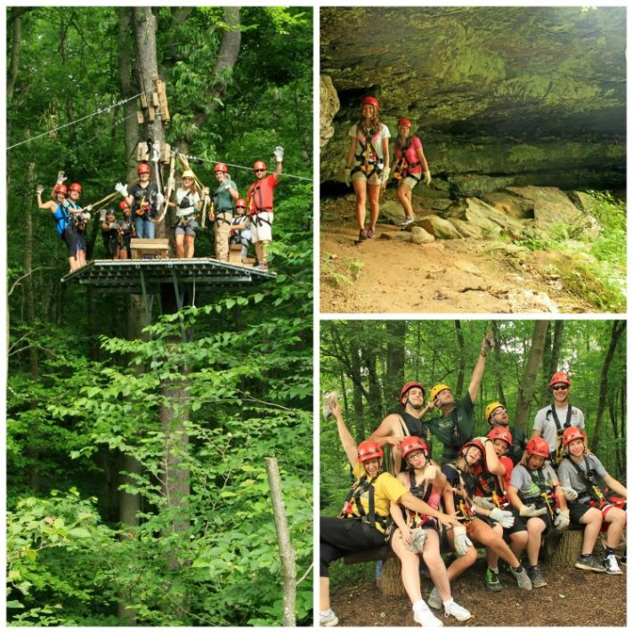 Hocking Hills Canopy Tours - X Tour