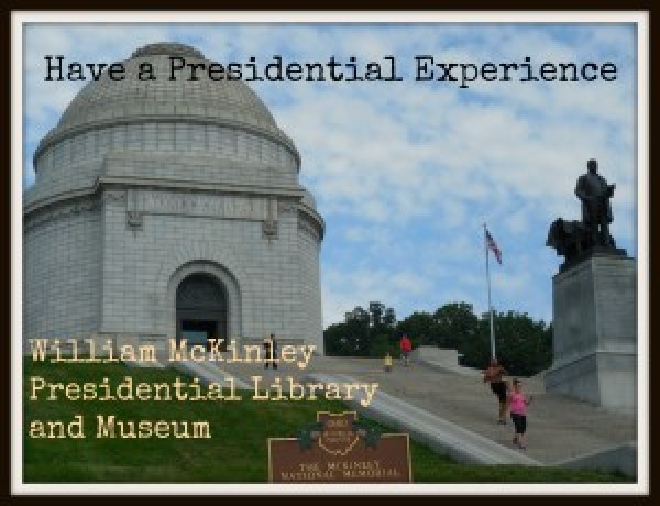The McKinley Museum is located right across the street from the William McKinley Tomb.