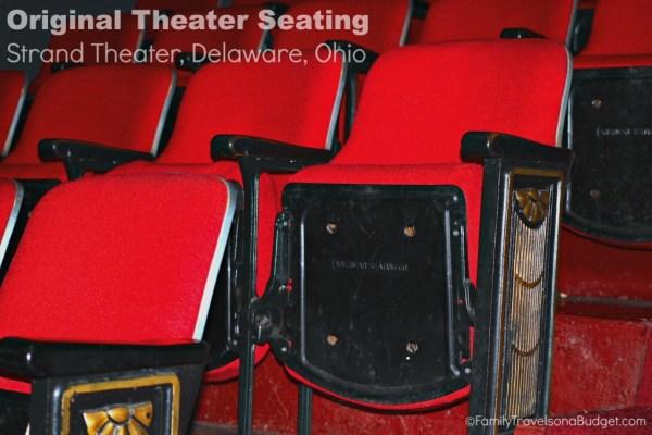 Strand Theatre Seating Delaware Ohio