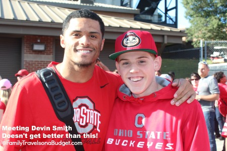 Devin Smith WR 9 #OhioState