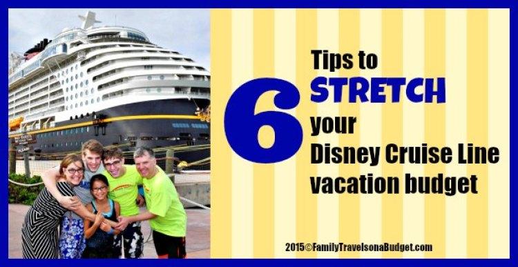 Disney Cruise Line Budget Saving Tips #ftoab