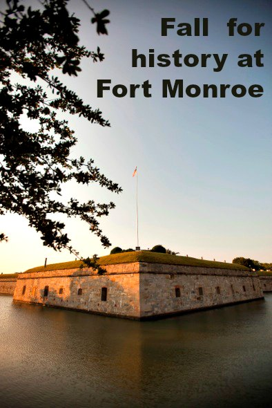 Poets and pets: The story of Fort Monroe