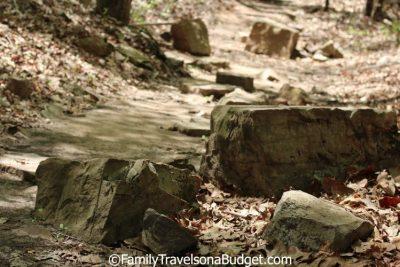 Red Mountain Park Trail in Birmingham, Alabama