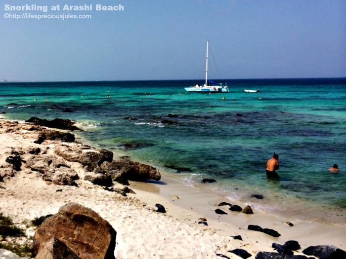Arashi Beach Aruba by Julia Sayers