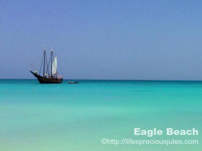 Eagle Beach by Julia Sayers
