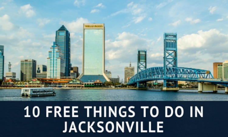 Headed to Florida? Add a stop in Jacksonville and enjoy one of these 10 free things to do in Jacksonville! Great way to break up a long road trip!
