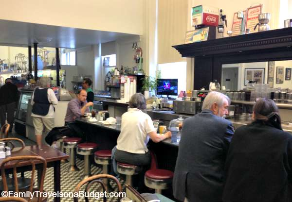 Downtown Mall Soda Fountain and drug store