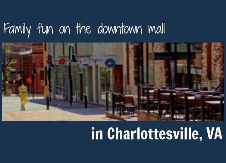 Downtown Mall in Charlottesville VA
