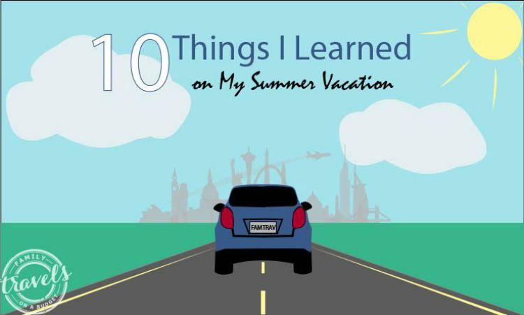 summer vacation at FTOAB