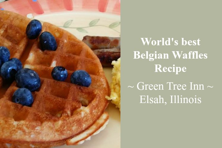 Belgian Waffles Green Tree Inn