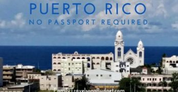 Puerto Rico: No passport required!