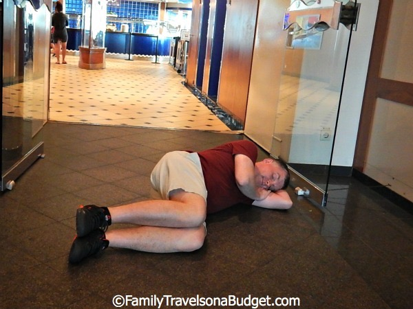 Cruise mistakes: Taking yourself too seriously. Have fun.