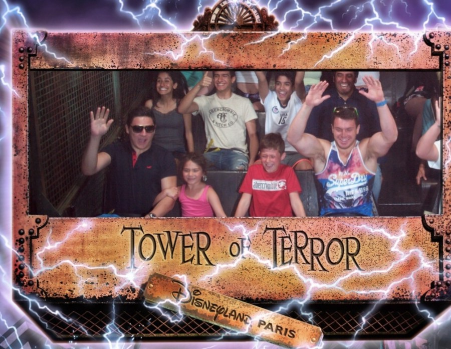 Tower of Terror, Disneyland