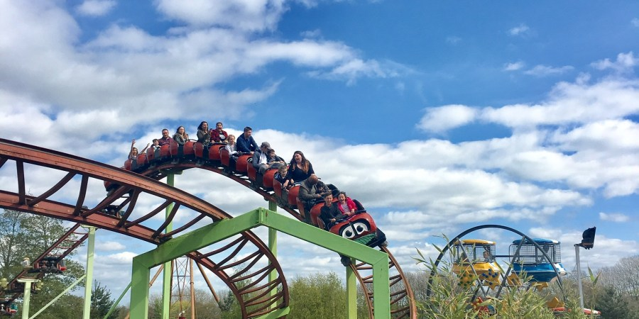 Rollercoaster fun at Lightwater Valley
