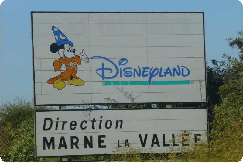 route to disneyland paris