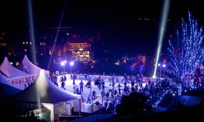 Christmas ice rink in Kent