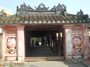 This was the enterance to the Japanese trade district of Hoi An