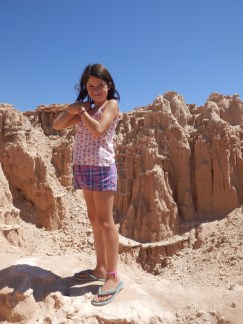 In Cathederal Canyon Nevada