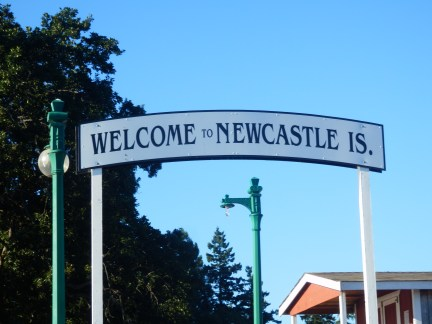 Blue skies over Newcastle - that would be nice.