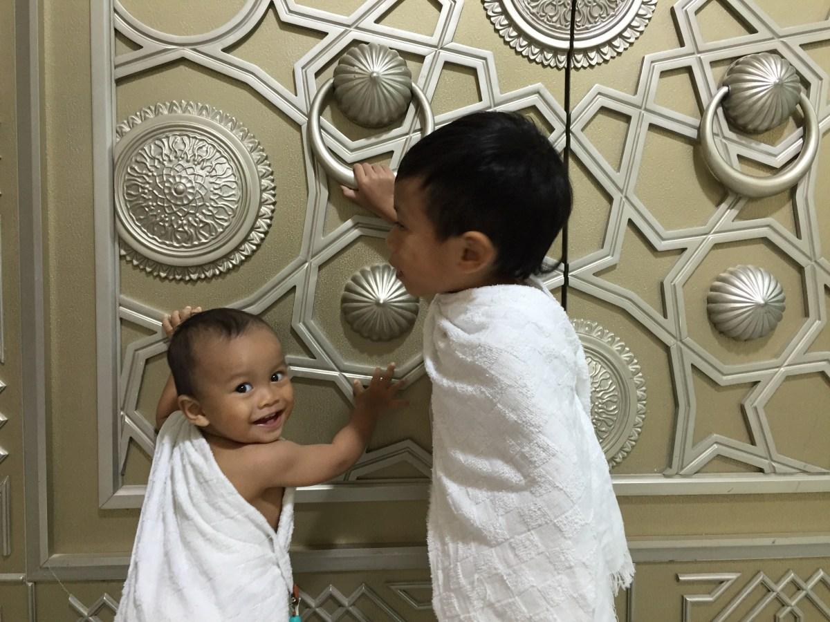 Umrah with young kids : Makkah Al Mukarramah