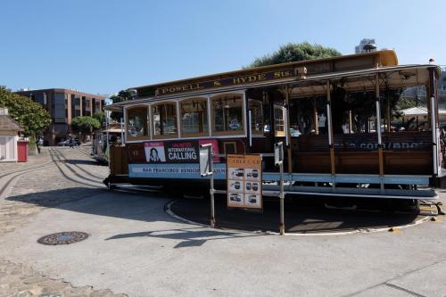 Capolinea Cable car a San Francisco