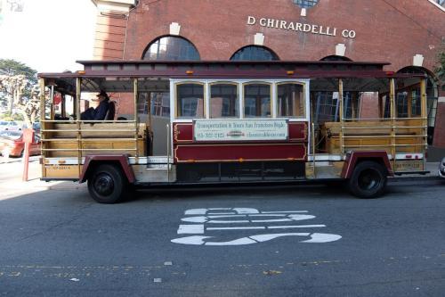 Ghirardelli con il San Francisco classic cable car