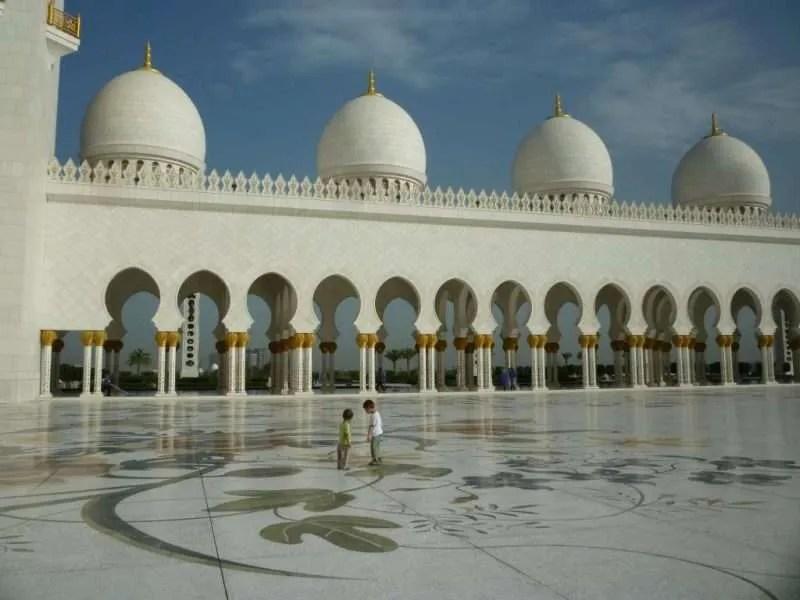 Sheiyk Zayed moschea Abu Dhabi