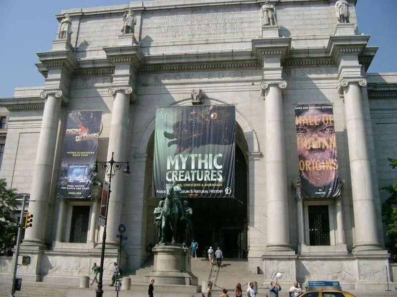 Entrata Museo storia naturale