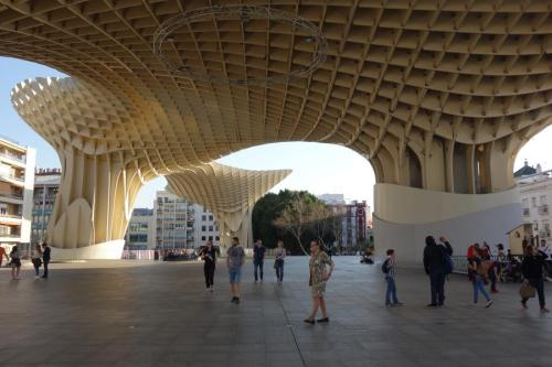 Metropol Parasol a Siviglia
