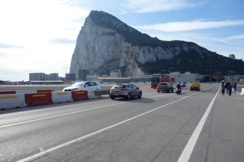 Gibilterra la pista di atterraggio