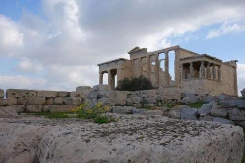 Acropoli Atene le cariatidi