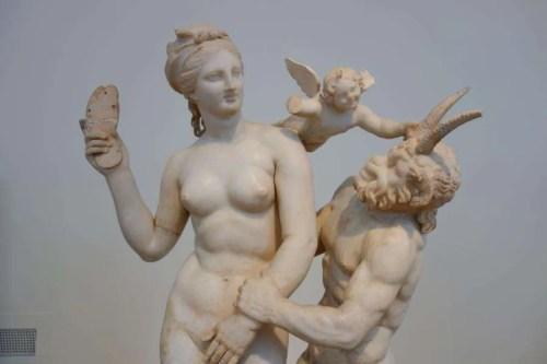 Afrodite, Pan e Eros Atene
