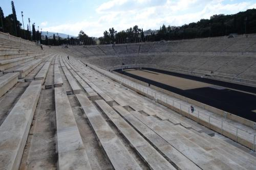Scalinate dello stadio Panathinaiko
