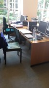 Mein Arbeitsplatz in der Bibliothek