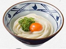 丸亀製麺、釜玉うどん