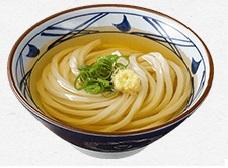 丸亀製麺、かけうどん
